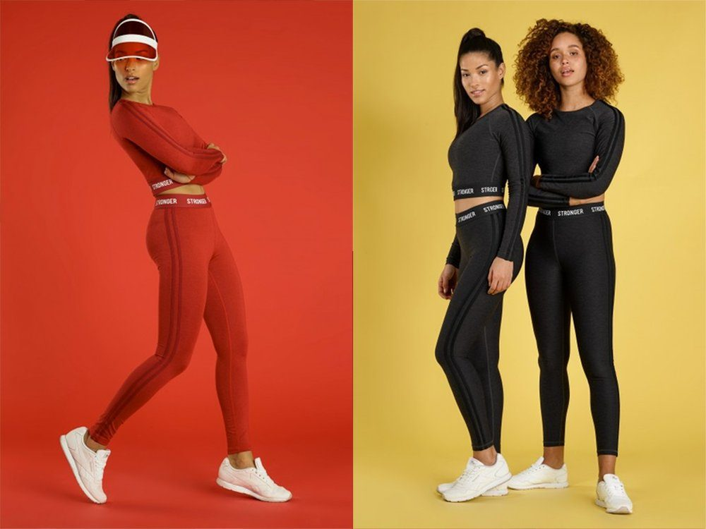 Stronger throwback collection sommar 2018 tights top