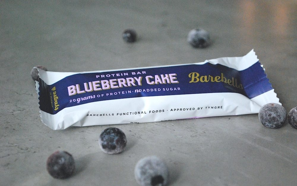 Recension Barebells Proteinbar Blureberry Cheesecake